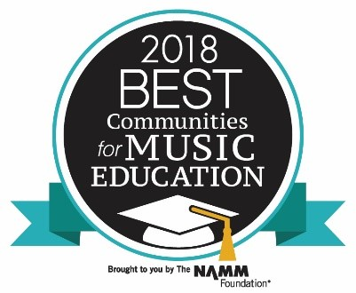 Sullivan West Recognized as One of the Best in the Nation for Music Education